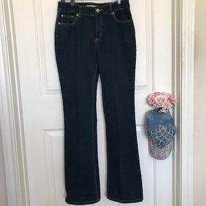 Chico's Platinum Charm bootcut mid-rise Jeans 0.5